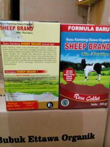 Susu ettawa bubuk sheep brand