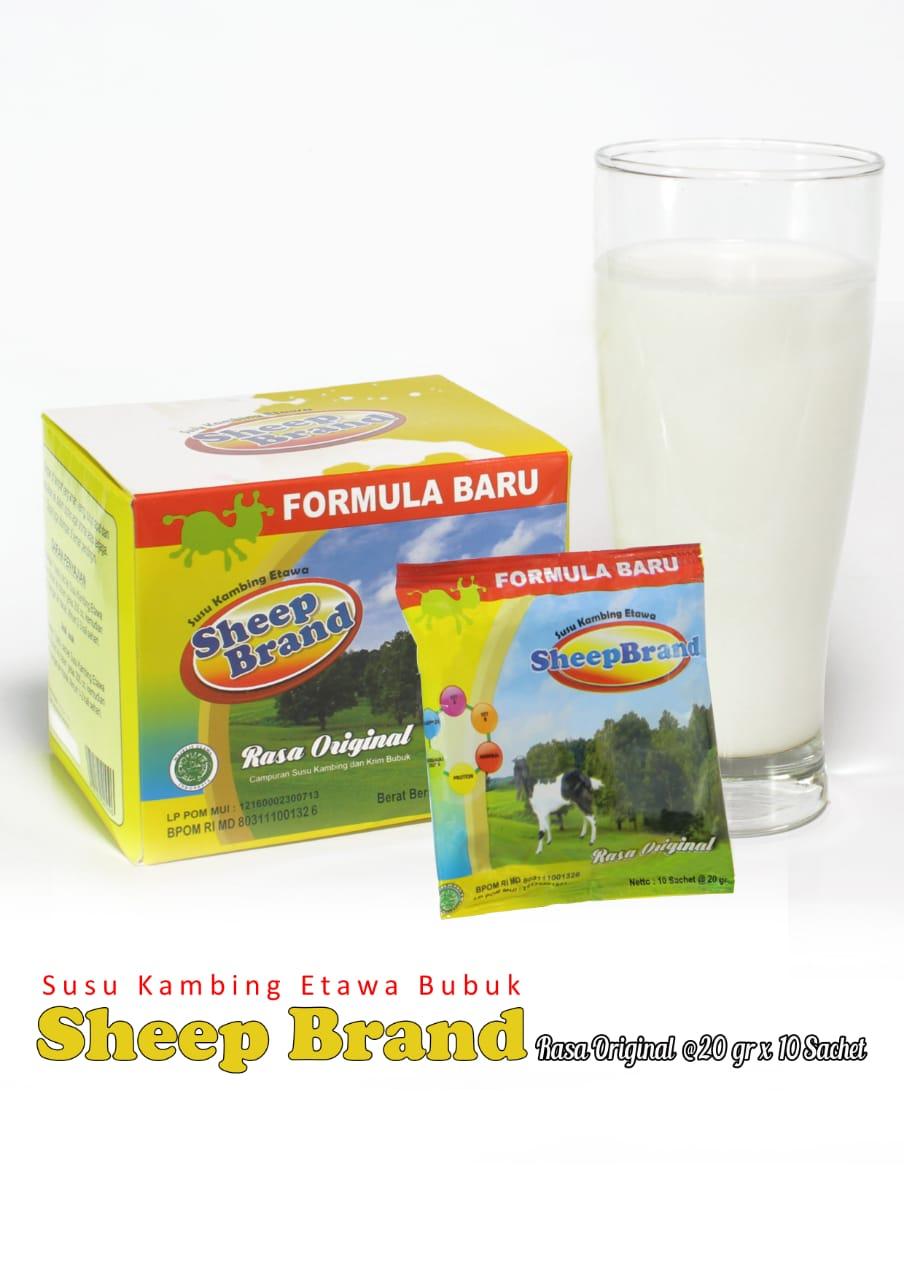 Jual Susu Kambing Etawa Bubuk Sheepbrand