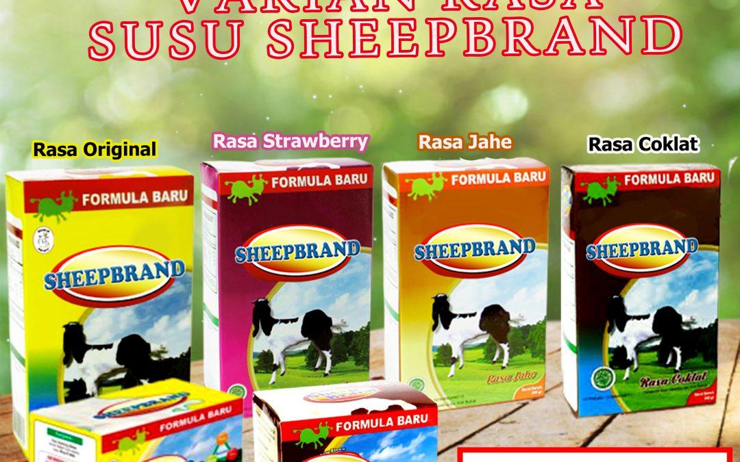Varian Rasa Susu Kambing Etawa Sheepbrand